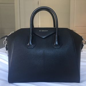 Givenchy Medium Antigona Sugar Leather Satchel Bag